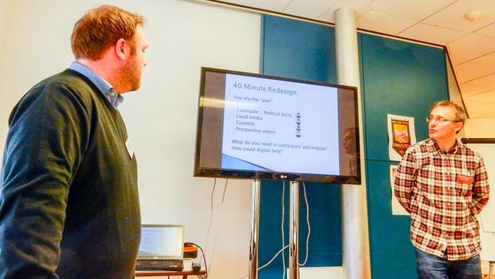 content workshop at #notwestminster