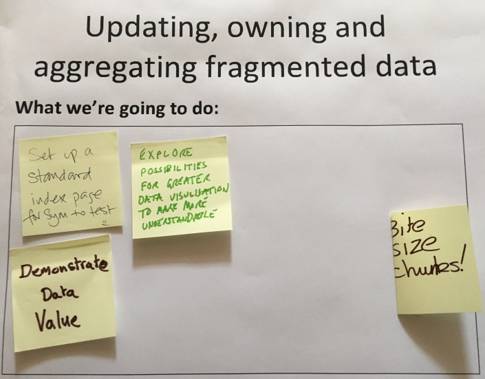 Ideas for Fragmented data
