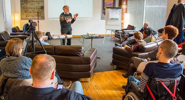 Peter Emerson's workshop at Notwestminster 2016